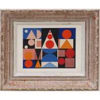 AUGUSTE HERBIN 'Abstract'