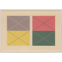 JOSEF ALBERS 'Abstract'