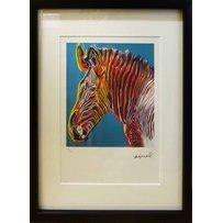 ANDY WARHOL 'Zebra'