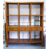 CHINESE SHANXI STYLE LIBRARY BOOKCASE