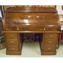 MAPLE & CO LTD CYLINDER DESK