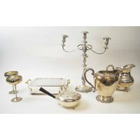 VARIOUS SILVER PLATED WARES