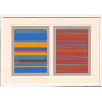 JOSEF ALBERS 'Stripes'