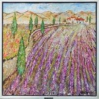 KEN DAVIS 'Lavender field Provence'