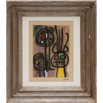 JOAN MIRO 'Personnages'