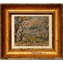 PAUL CEZANNE 'Landscape'