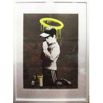 BANKSY 'Forgive our trespassing'