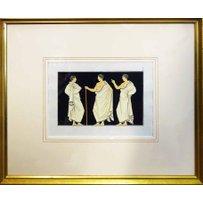 ANTHON WILHELM TISCHBEIN 'Greek figures from the Portland vase'