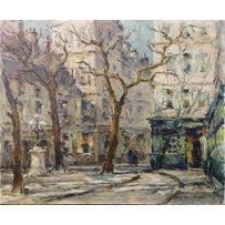 H WAGNER 'Place Fustenburg - Paris'
