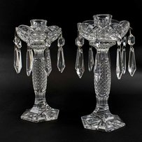 A PAIR OF BOXED WATERFORD CUT GLASS