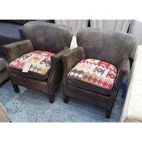 TIMOTHY OULTON PROFESSOR ARMCHAIRS
