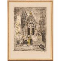 JOHN PIPER 'St Matthias-Stoke Newington-London'
