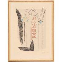 JOHN PIPER 'Llan Y Blodwell - Shropshire'
