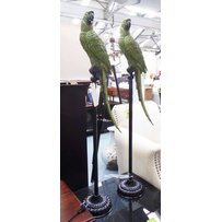 PARROTS ON STANDS