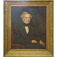 19TH CENTURY SCHOOL 'Portrait of a gentleman wearing a cravat'