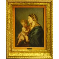 18TH CENTURY FRENCH SCHOOL 'Madonna and child'