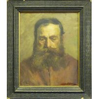N. ROVELARO 'Portrait of Count Tolstoy'
