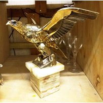 GILT BRONZE EAGLE