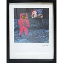 ANDY WARHOL 'Moon landing'