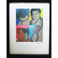 ANDY WARHOL 'Muhammad Ali'