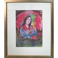 MARC CHAGALL 'The thought'