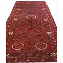 FINE CENTRAL ASIAN AFGHAN BASHIR CARPET