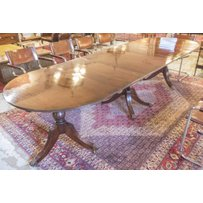 TRIPLE PILLAR DINING TABLE