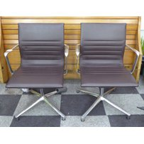 ICF EAMES STYLE OFFICE CHAIRS