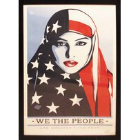SHEPARD FAIREY 'We the people - are greater than fear'