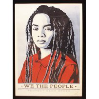 SHEPARD FAIREY 'We the people - protect each other'