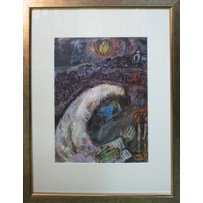 MARC CHAGALL 'Man in prayer'