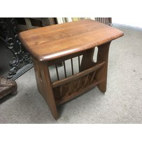 An Ercol Windsor magazine rack