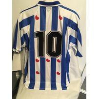 1999/2000 Heerenveen Intertoto Cup Match Worn Football Shirt: Swapped with West Ham player after …
