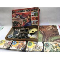 Airfix 1:32 scale boxed Combat pack , battle action with firing pillboxes , including Airfix 1:32…