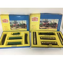 Included are 2 hornby Dublo oo gauge sets.