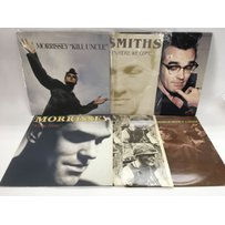 Six Smiths and Morrissey LPs and 12 inch singles including '…