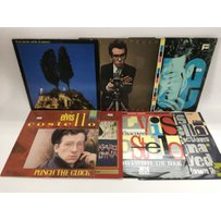 Seven Elvis Costello LPs and 12inch singles including 'This …