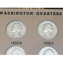 A Full and complete set of Washington Quarters 193…