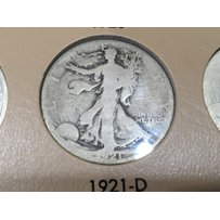 A full and complete set of Liberty Walking Half Do…