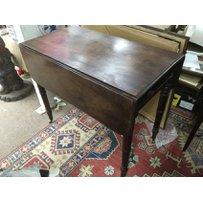 A 19th Century mahogany pembroke table, approx 86cm x 96cm x…